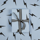 Luxury Lightning Bolt Wrapping Paper