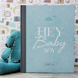 Baby Journal And Record Book For Boys - baby shower gifts & ideas