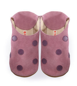 Polka Dot Rose Shoes , Slippers