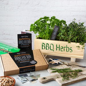 Bbq Herb And Smoking Kit - gifts for him