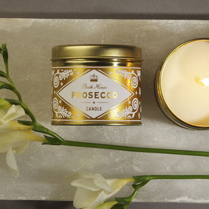 Prosecco Scented Candle - candles & home fragrance