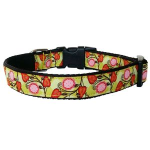 Dog Collar Bright Floral