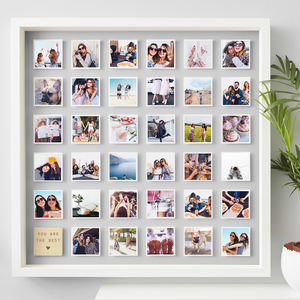 Personalised Best Friend Framed Print - summer sale