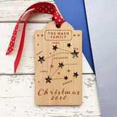 Family Constellation Christmas Tag Decoration - sale