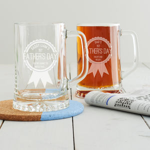 Personalised First Father's Day Tankard - first father's day