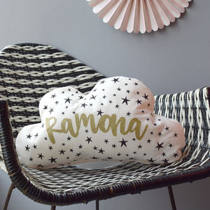 Personalised Cloud Cushion - cushions