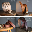 Personalised Leather Belt