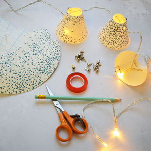 Mini Lampshade Fairy Lights Workshop - experiences