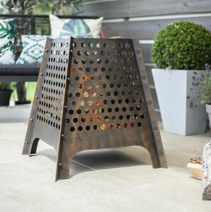 Circles Steel Fire Pit