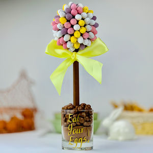A Chocolate Tree Made With Cadbury Mini Eggs - novelty chocolates