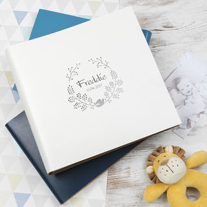 Leather Christening And New Baby Album - christening gifts