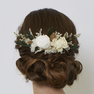 Lucy Comb - bridal hairpieces