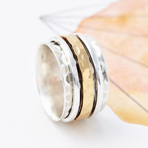 Karma Spinning Ring - rings