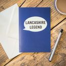 Lancashire Legend Card
