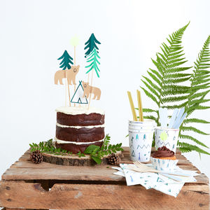 Let's Explore Cake Toppers - table decorations