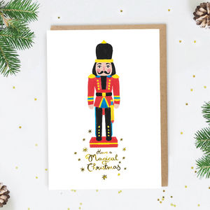 Nutcracker Christmas Card - christmas card packs