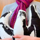 Animal Shaped Penguin Cushions