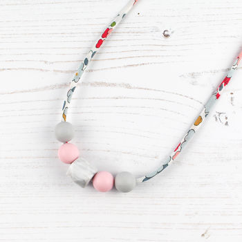 Liberty Silicone Teething Necklace