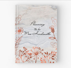 Personalised Wedding Planner Hardback Notebook