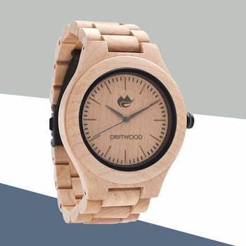 Maplewood Wood Watch – Driftwood Watches