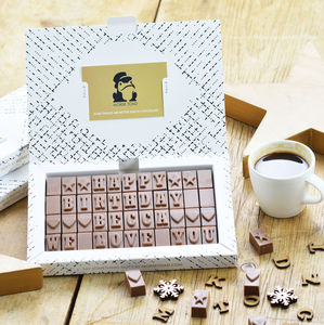 Personalised Chocolate Gift In An Extra Large Box - gifts for her