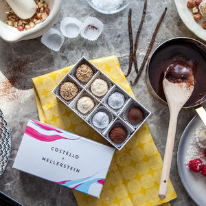 Mixed Box Of Artisan Chocolate Truffles - gifts for her