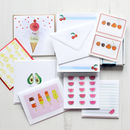 Summer Fruit Stationery Set