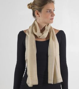 Pure Cashmere Scarf - scarves