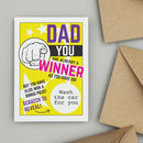 Personalised Scratch Birthday Card For Dads