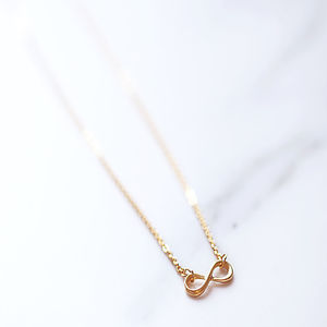 'Infinity' Charm Necklace