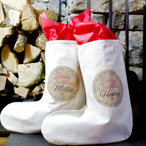 Personalised Merry Christmas Stocking - personalised
