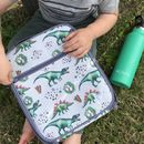 Insulated Lunchbag With Built In Ice Pack
