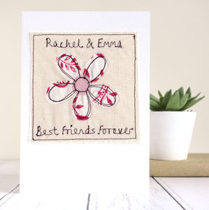 Personalised Flower Card - shop by category