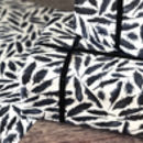 Inky Raven Feathers Wrapping Paper