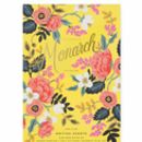 Floral Monarch Large Writing Pad 60 Sheet