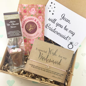 Will You Be My Bridesmaid Gift Box - be my bridesmaid?