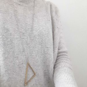 Simplistic Geometric Necklace