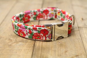 Poppy Liberty Dog Collar