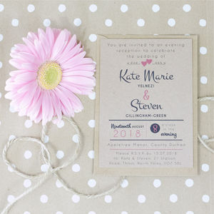 Paperhearts Wedding Invitation