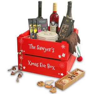 Personalised Christmas Eve Crate - toy boxes & chests