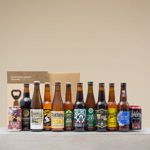Taster Kit + One Month Of Craft Beer - personalised