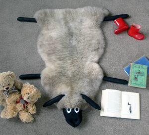 Childs Sheepskin Rug