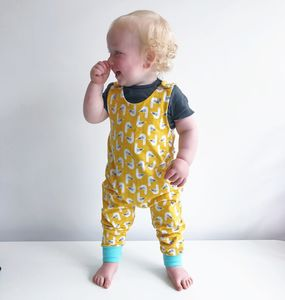 Seagull Organic Dungarees - the 'no pink or blue' children's collection
