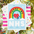 Nhs Thank You Greeting Card