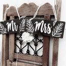 Woodland Wedding Style Chair Signs