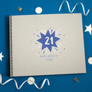 Personalised 21st Birthday Spiral Bound Book
