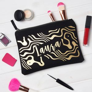Personalised Marble Make Up Bag - new in health & beauty