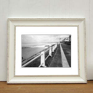 Beach, Carolles, France Photographic Art Print
