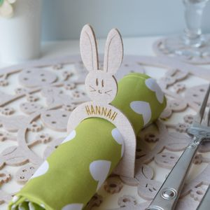 Easter Placemat, Coaster And Napkin Ring Set - tableware