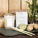 Lemongrass, Ginger, Lime And Bergamot Revive Soy Candle